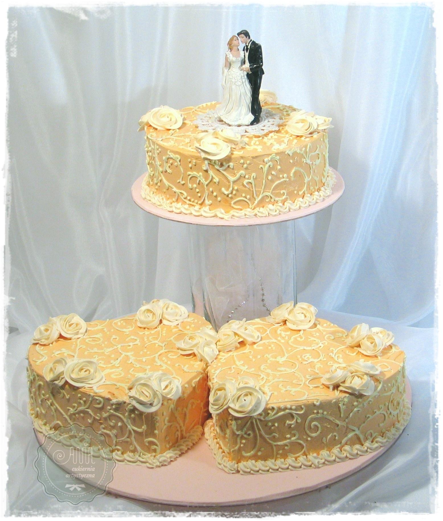 Tort weselny Impresja - zdjęcie 1