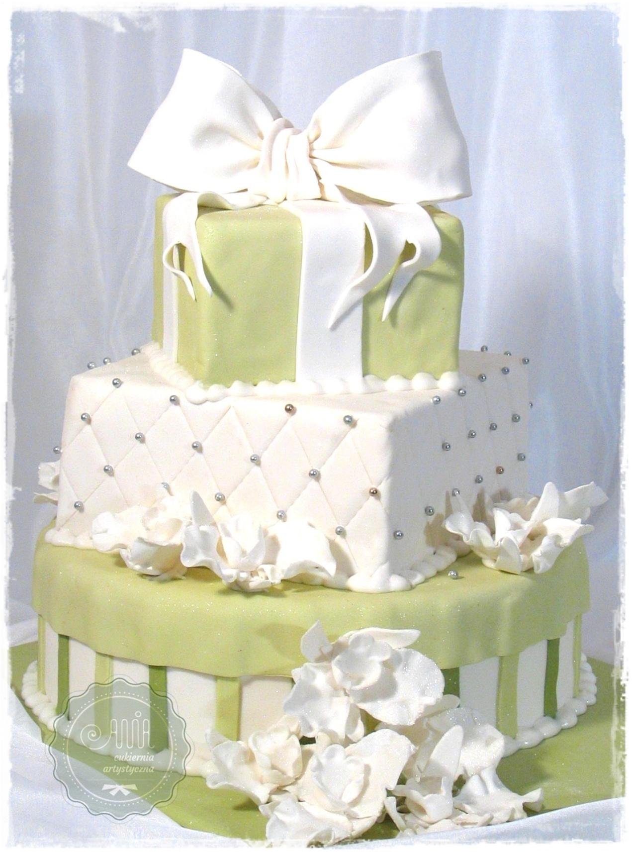 Tort weselny Fidelia - zdjęcie 1