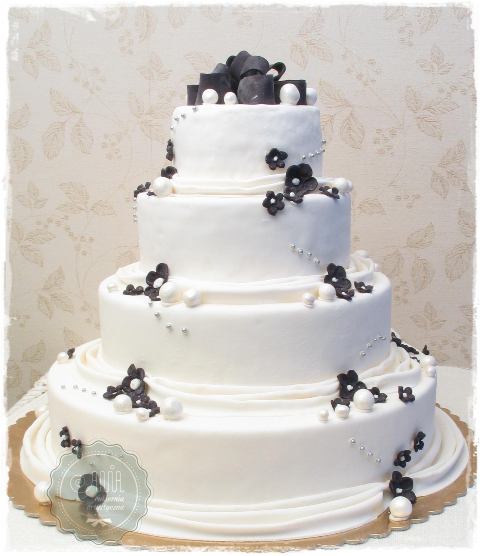 Tort weselny Aria - zdjęcie 1