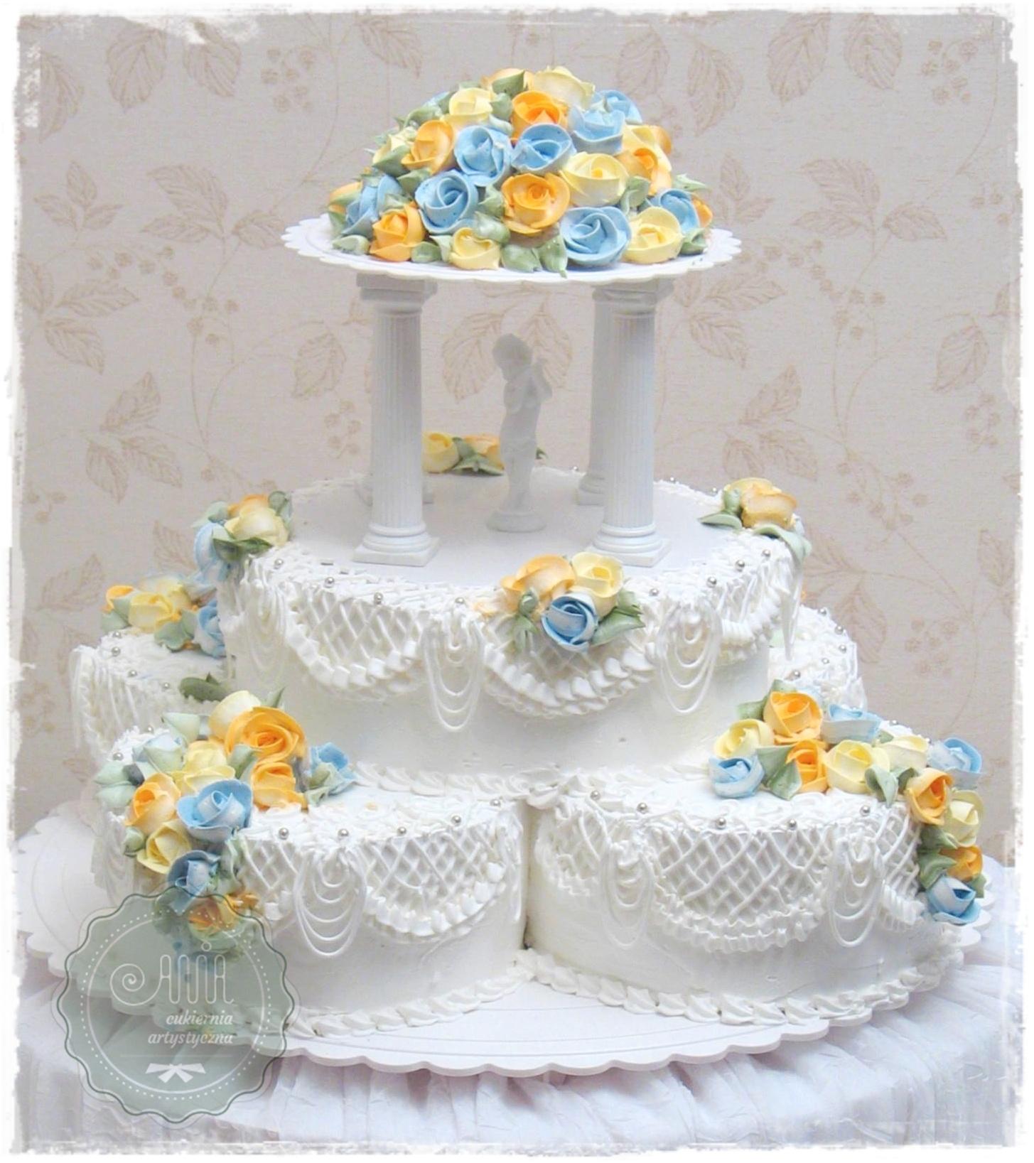 Tort weselny Kaskada - zdjęcie 1