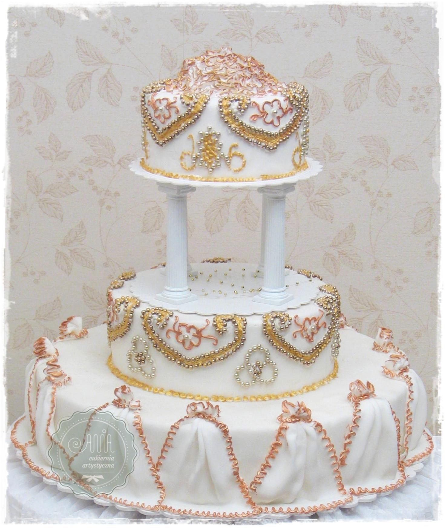Tort weselny Klejnot - zdjęcie 1