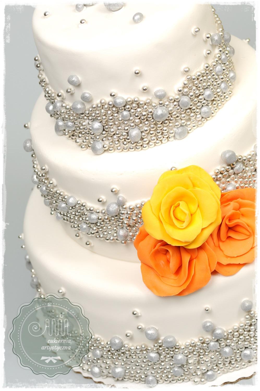 Tort weselny Gwiezdny pył - zdjęcie 1