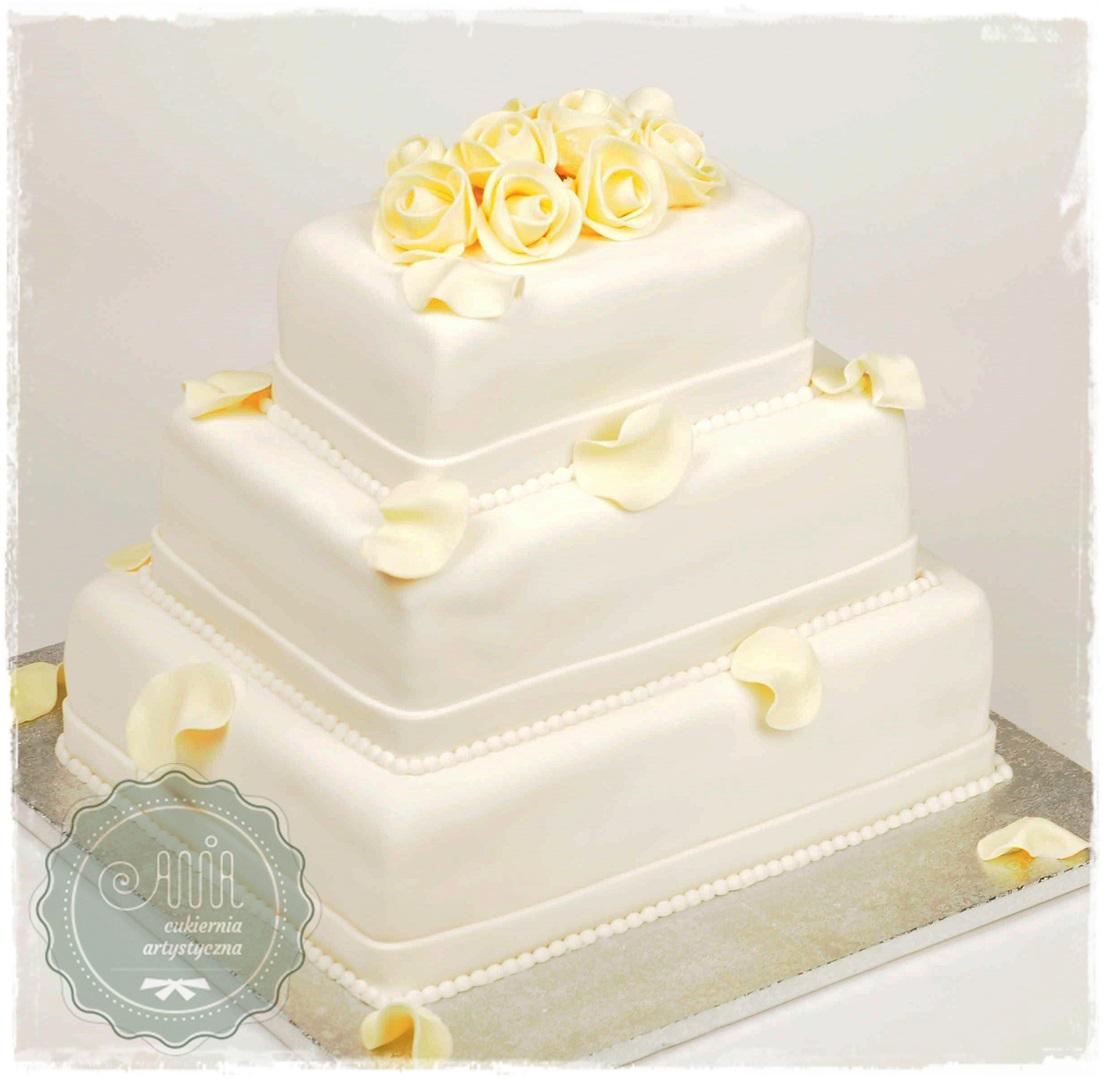 Tort ślubny Elena - zdjęcie 1