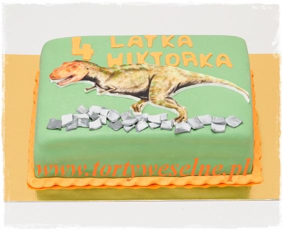 Tort Tyranozaur - zdjęcie 1