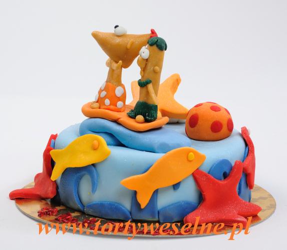Tort Fineasz i Ferb - zdjęcie 1