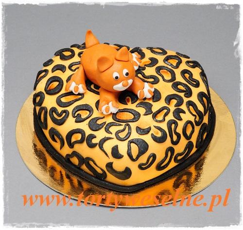 Tort Rudy Kot Torty Weselne Oraz Unikalne Torty Urodzinowe Z