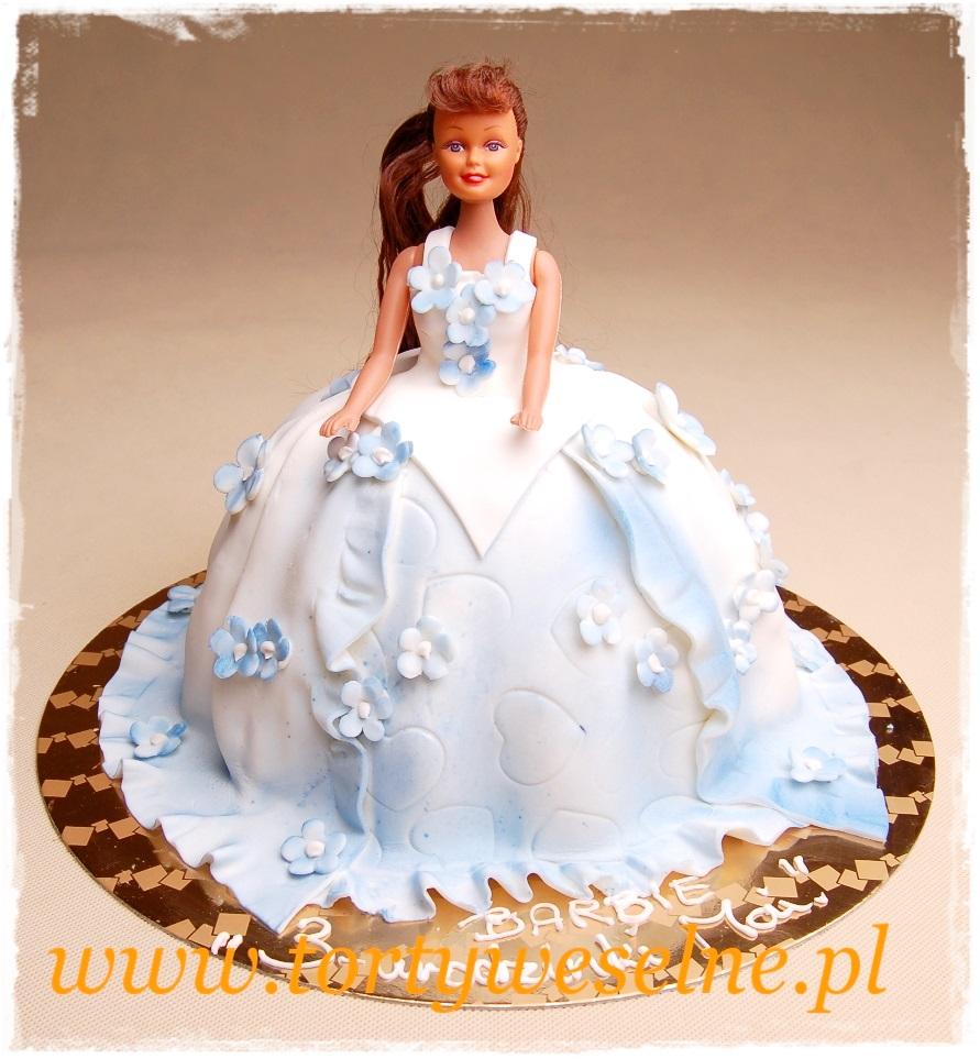 Tort Księżniczka niebieska - zdjęcie 1
