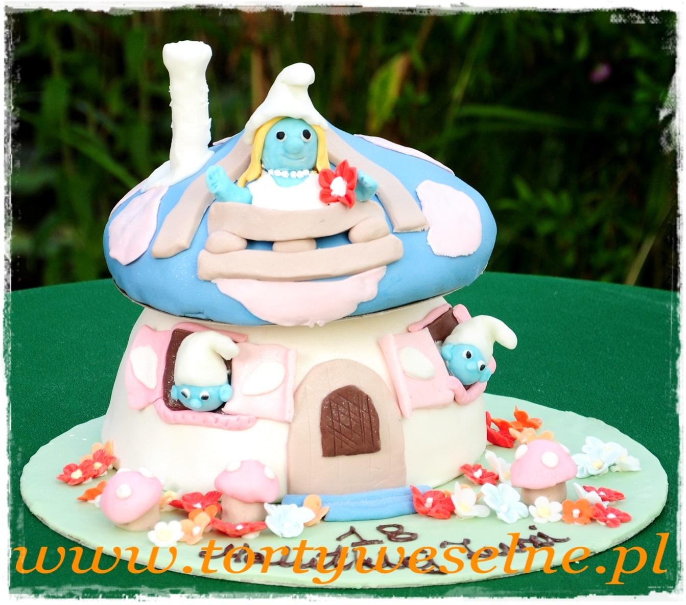 Tort Smerfy - zdjęcie 1