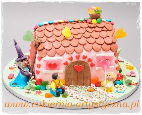 Tort Słodka chatka - zdjęcie 1