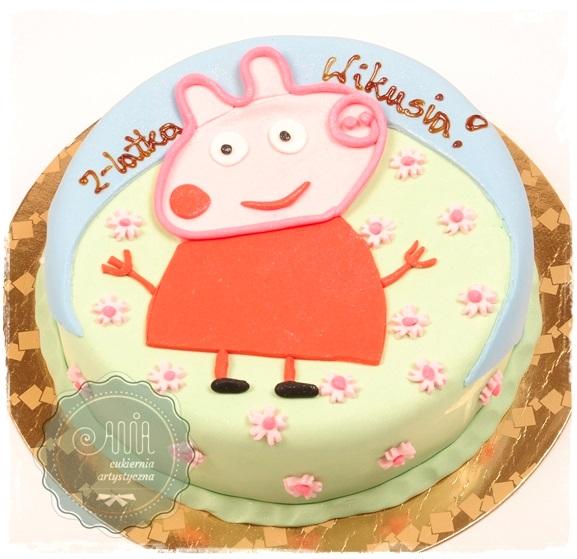 Tort Świnka Peppa - zdjęcie 1
