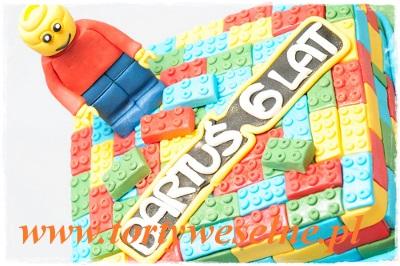 Tort Lego - zdjęcie 1