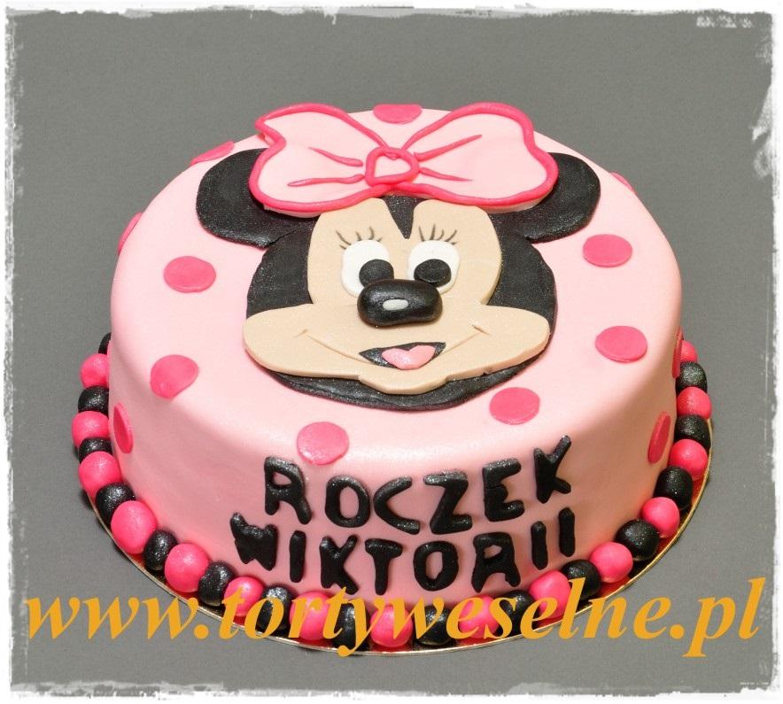 Tort Myszka Minnie nr3 - zdjęcie 1
