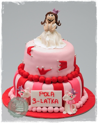 Tort z Księżniczką - zdjęcie 1