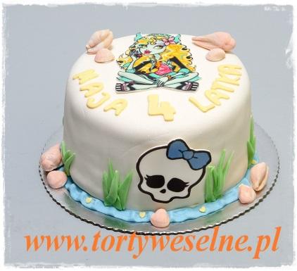 Tort Monster High Lagoona - zdjęcie 1