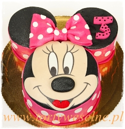 Tort Myszka Minnie 4 - zdjęcie 1