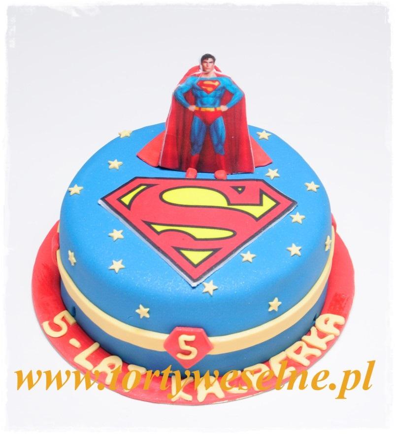 Tort urodzinowy - Superman - zdjęcie 1