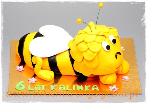 Tort urodzinowy - Pszczółka - zdjęcie 1