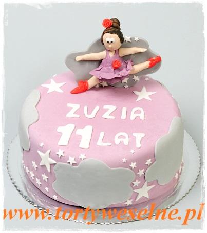Tort urodzinowy - tancerka - zdjęcie 1