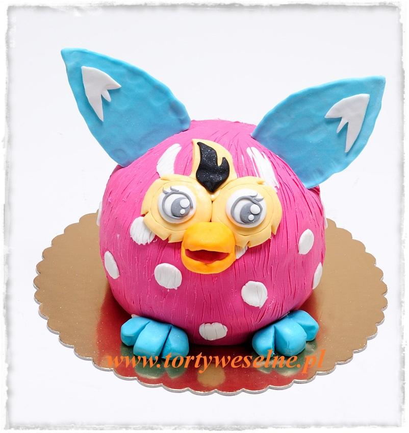 Tort urodzinowy - Furby - zdjęcie 1