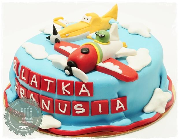Tort urodzinowy - Samoloty - zdjęcie 1