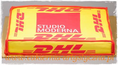 Tort z jadalnym logo - zdjęcie 1