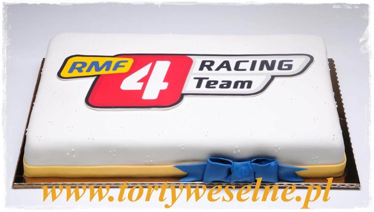Tort  z logo - zdjęcie 1