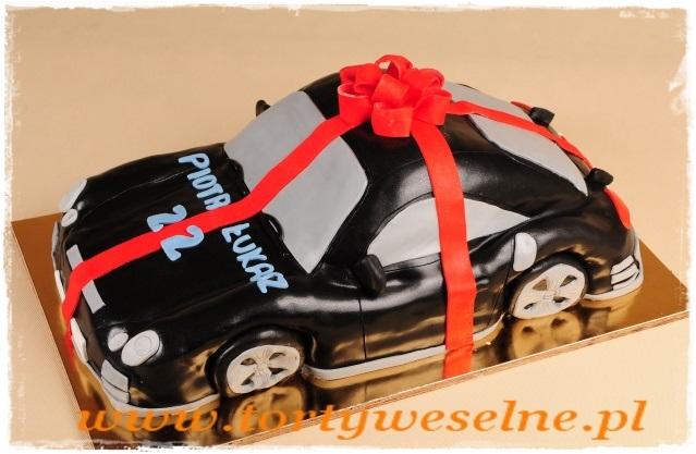 Tort Porsche50 porcji - zdjęcie 1