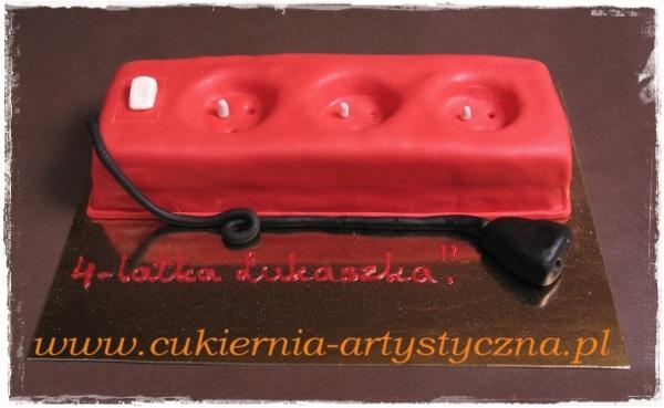 Tort dekoracyjny przedłużacz - zdjęcie 1