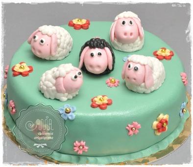 Tort owieczki - zdjęcie 1
