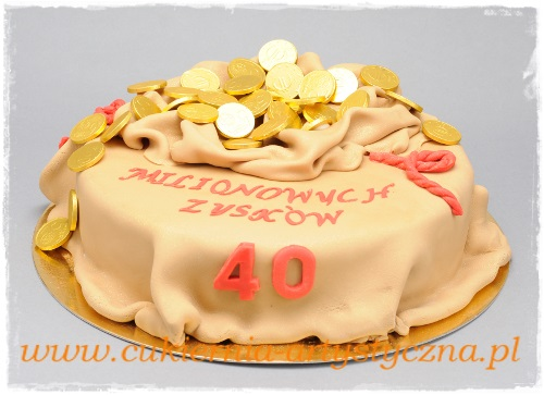 Tort Monety - zdjęcie 1