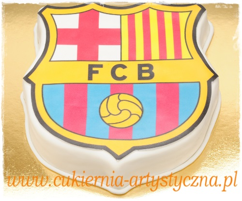 Tort FC Barcelona - zdjęcie 1