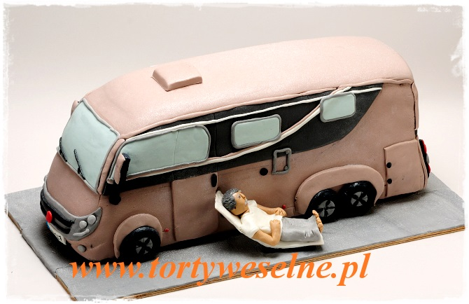 Tort Camper - zdjęcie 1