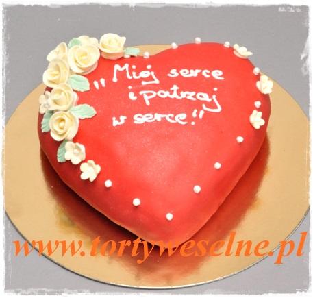 Tort Czerwone Serce - zdjęcie 1