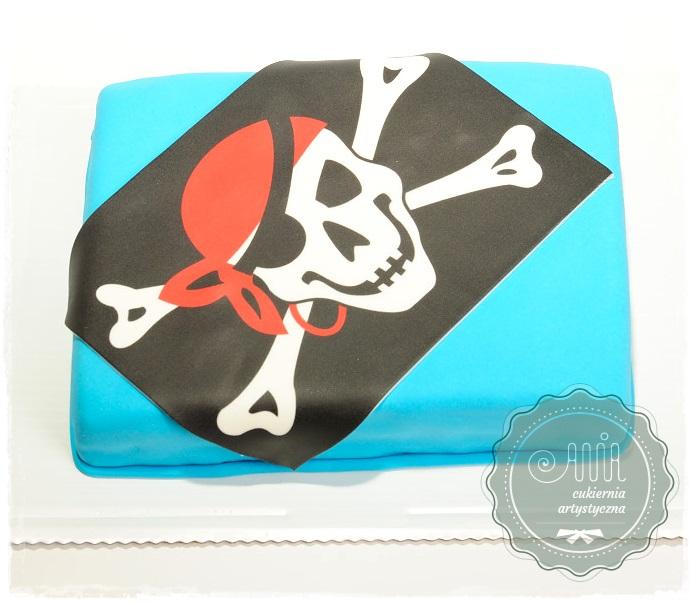 Tort flaga piracka - zdjęcie 1