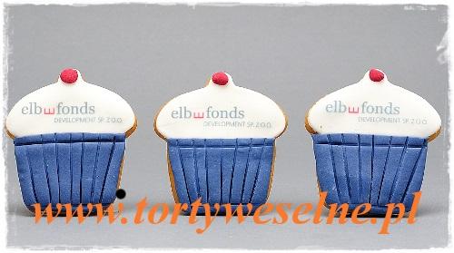 Babeczki miodowe z logo - zdjęcie 1