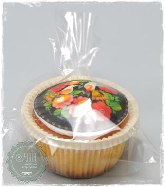 Muffina z jadalnym nadrukiem - zdjęcie 1