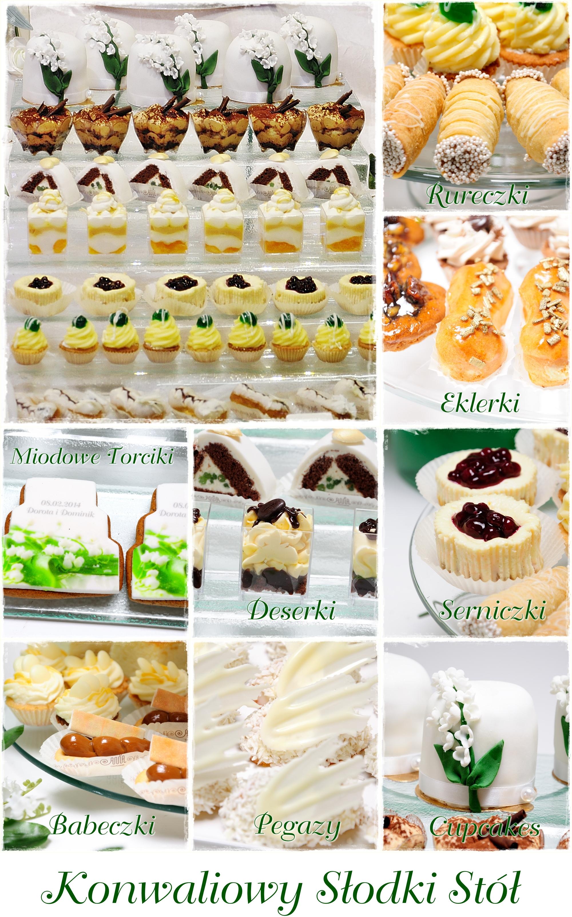 Konwaliowy słodki stół - zdjęcie 1