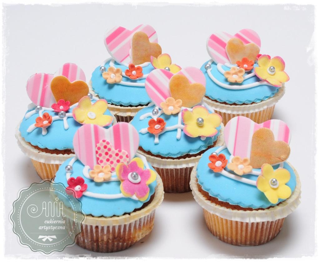 Błękitne muffiny - zdjęcie 1