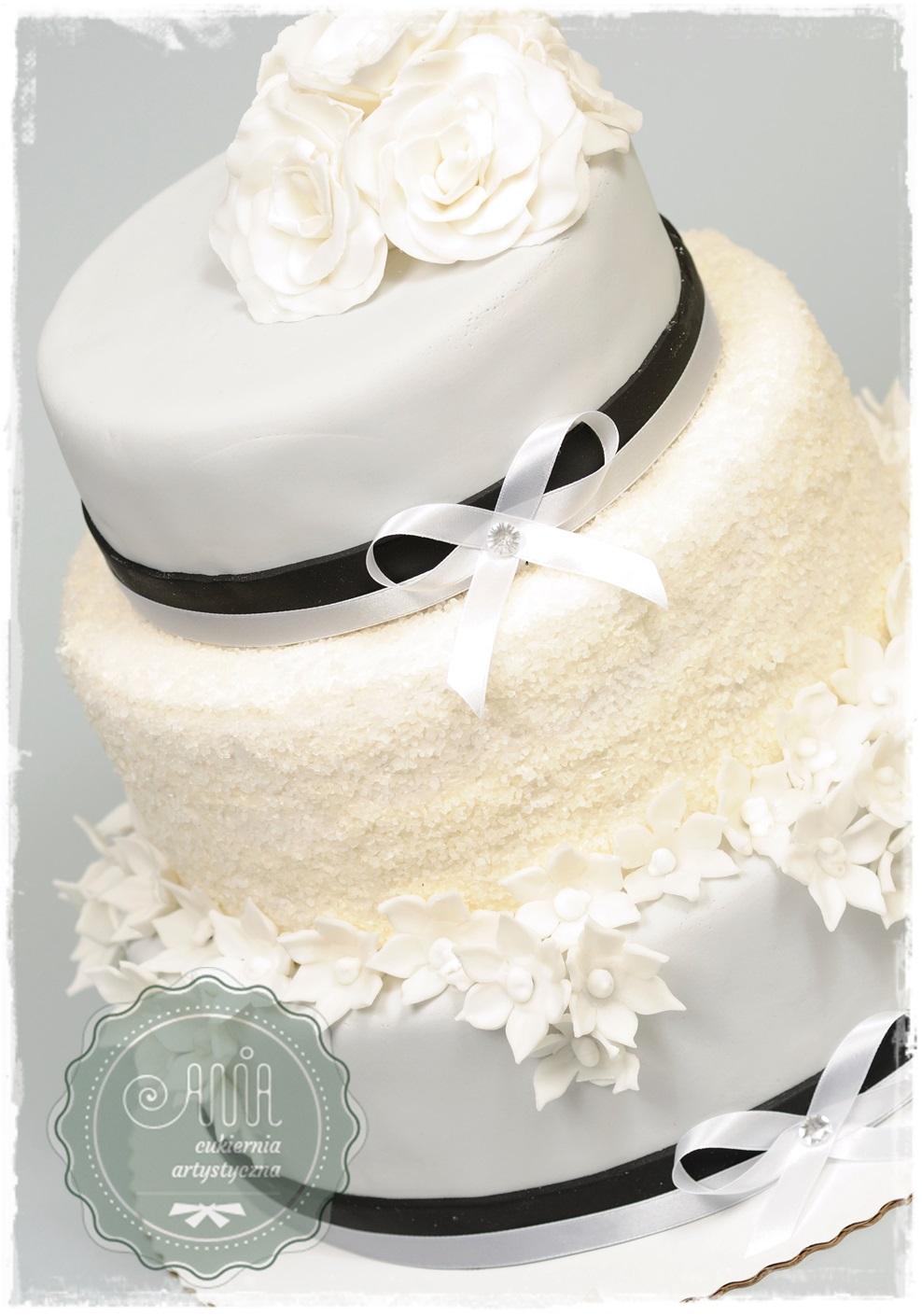 Tort weselny Klasyka - zdjęcie 1