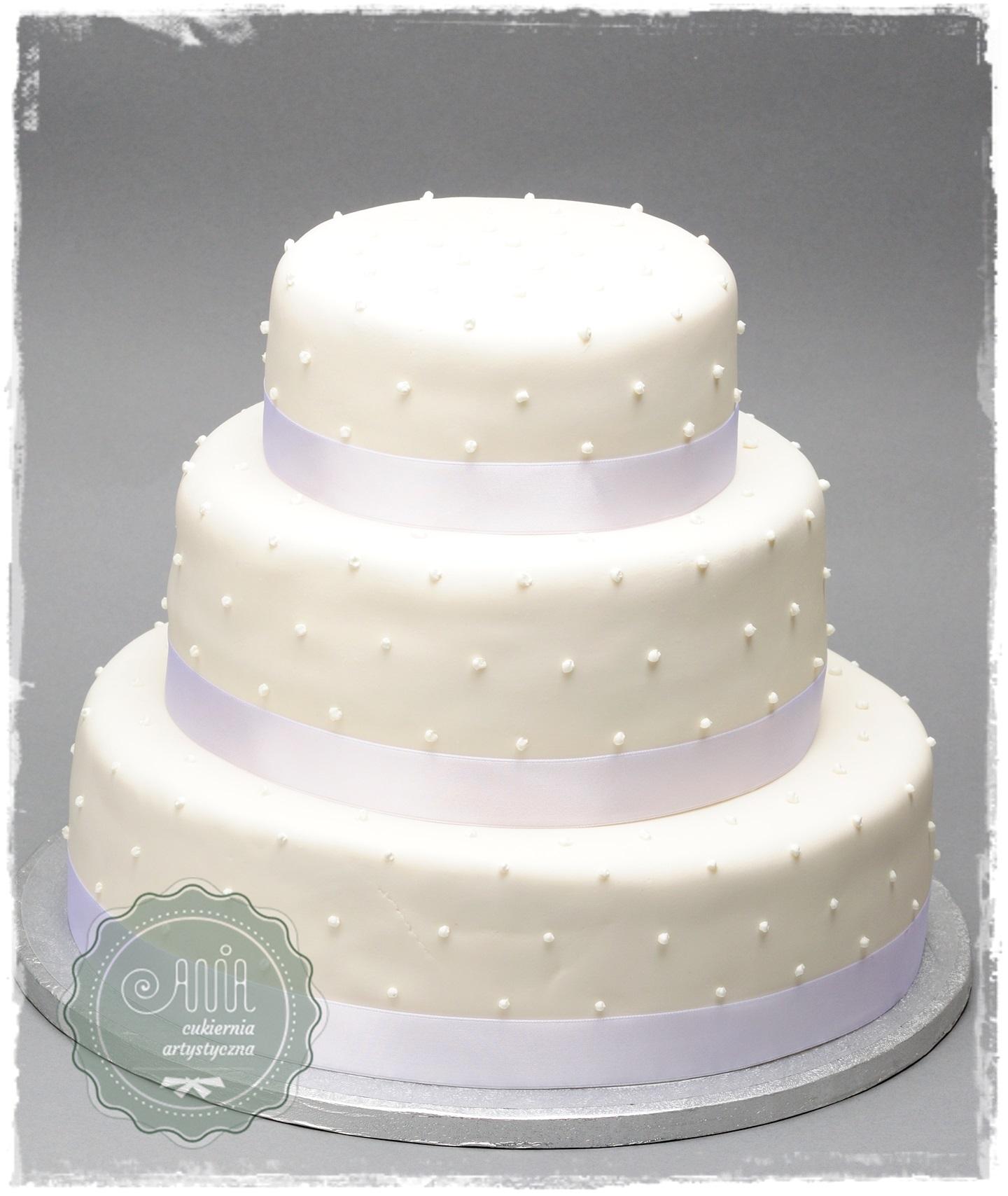 Tort weselny Simple - zdjęcie 1