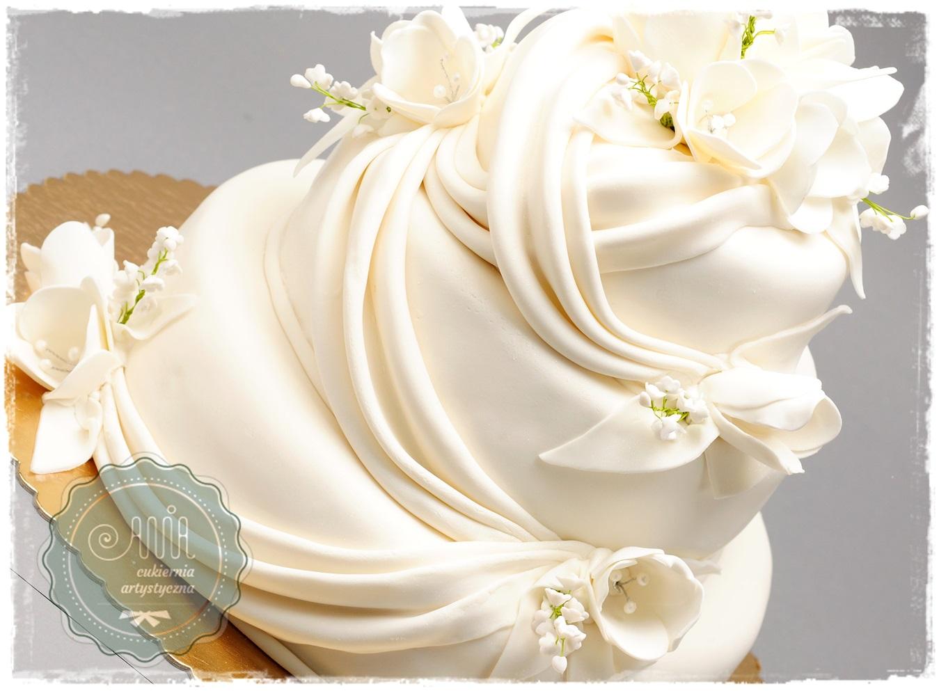 Tort Konwalie i Tulipany - zdjęcie 1