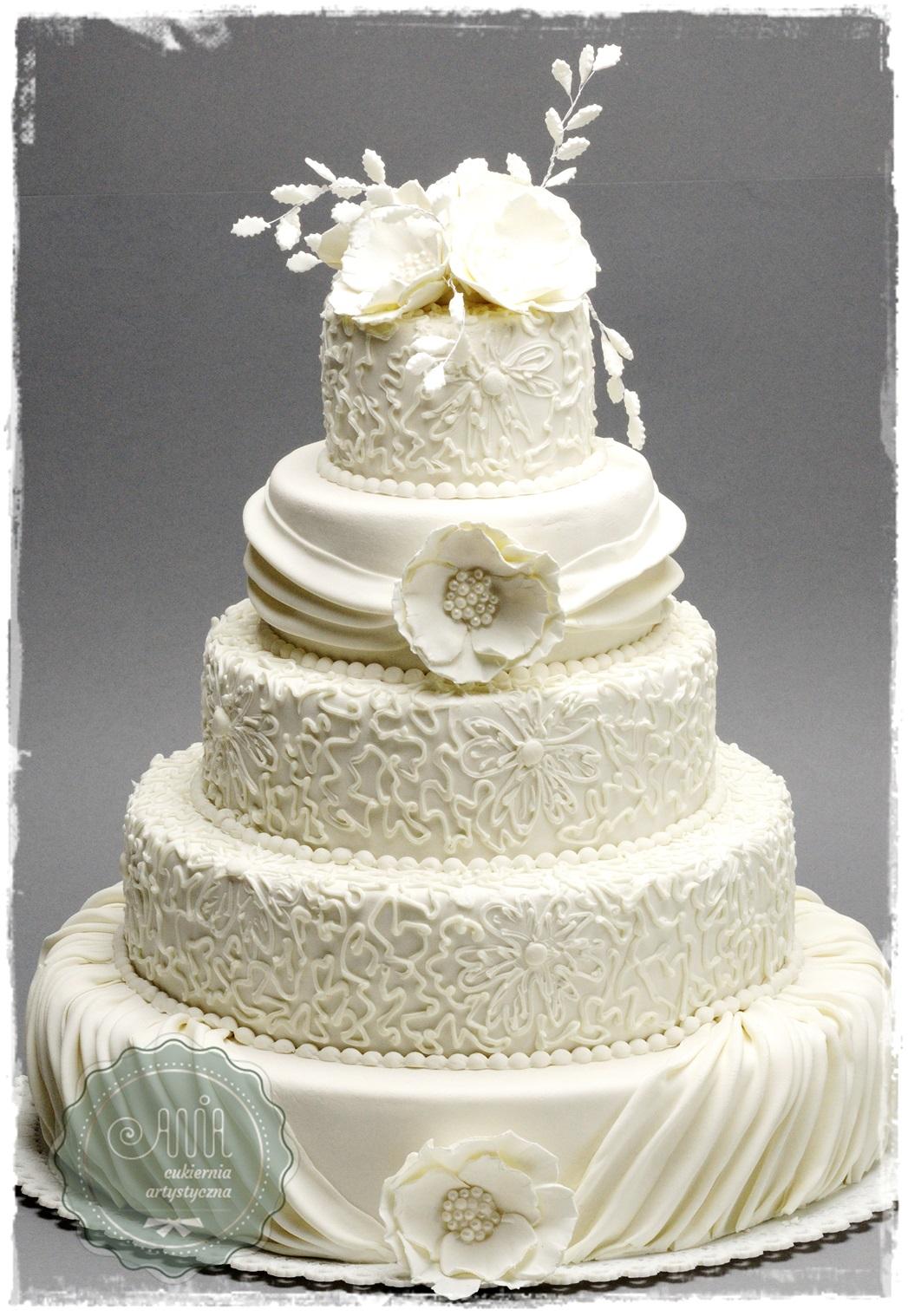 Tort weselny Lira - zdjęcie 1