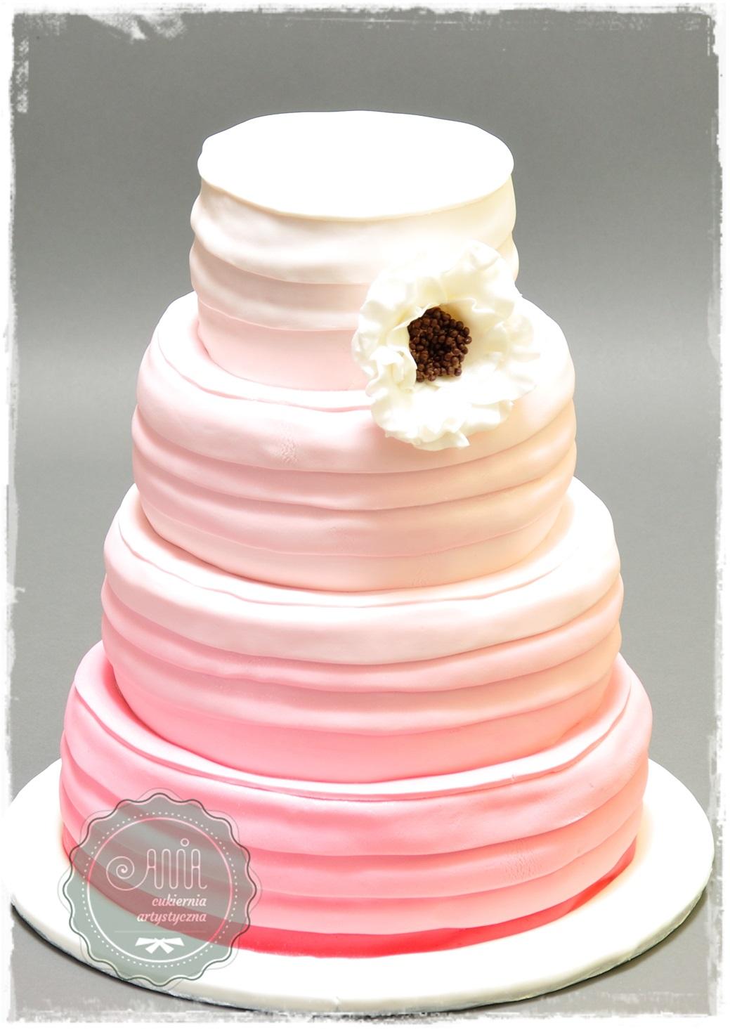 Tort weselny Cieniowany - zdjęcie 1