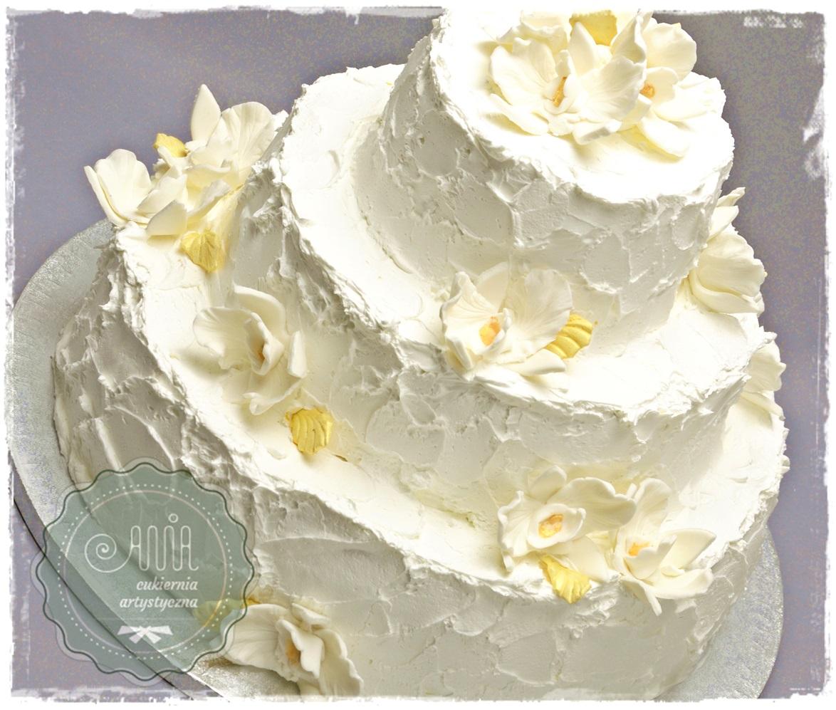 Tort weselny Kaja - zdjęcie 1