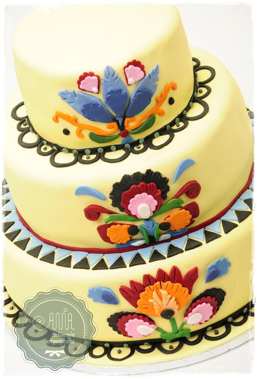 Tort weselny Ludowy - zdjęcie 1