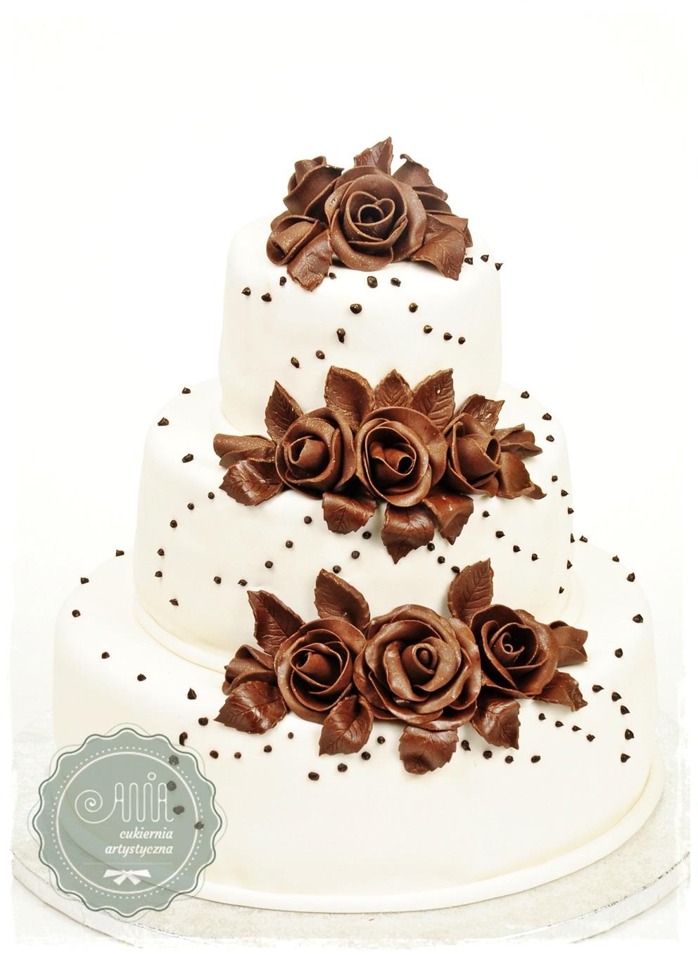 Tort weselny Bolero - zdjęcie 1