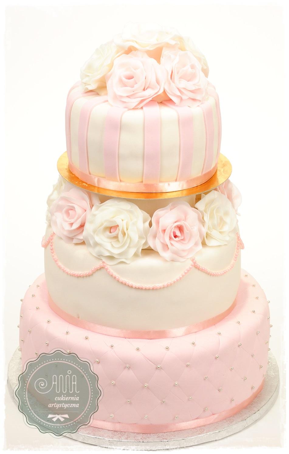 Tort ślubny Kamila - zdjęcie 1