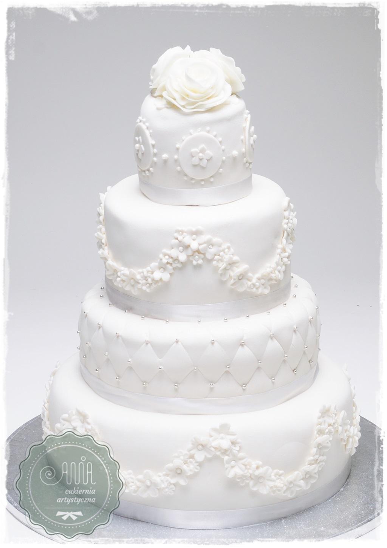 Tort weselny Ballada - zdjęcie 1