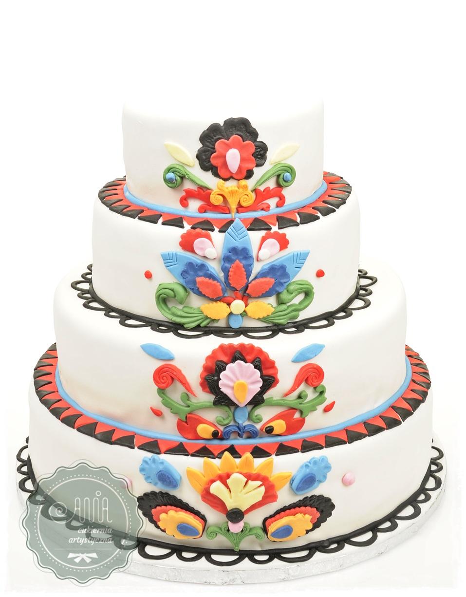 Tort Ludowy biały - zdjęcie 1