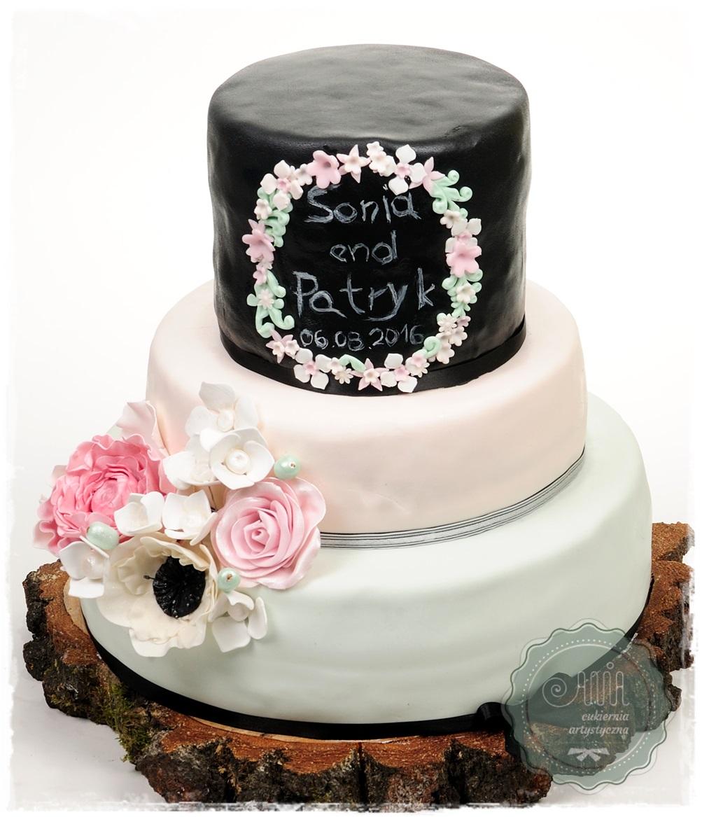 Tort weselny Olina - zdjęcie 1